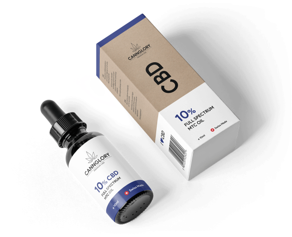 CBD Öl 10 % Voll Spectrum Cannabidiol - gegen Schlafstörungen