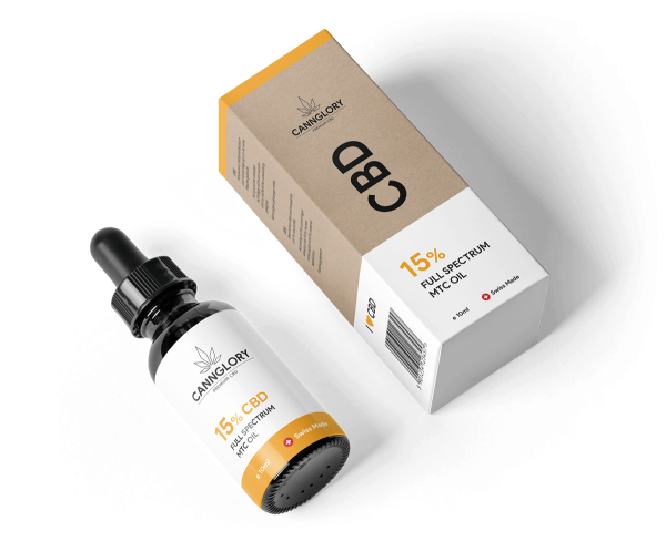 CBD Öl 15 % Voll Spectrum kaufen - gegen Depression, Angst, Parkinson