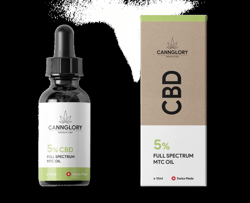 5% Full Spectrum CBD Oil Cannglory