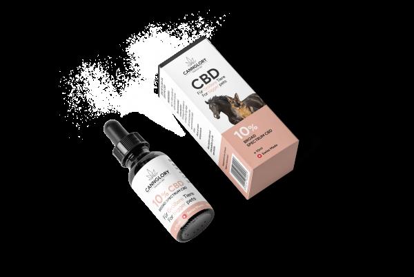 CBD Öl 10% Für Größere Tiere über 10 kg