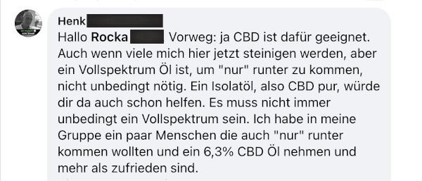 CBD und Stress